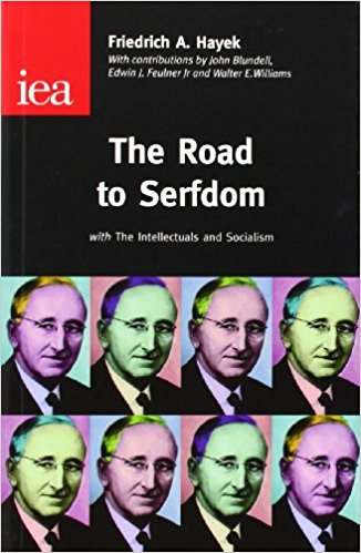 road to serfdom book cover